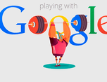 Google Doodles插画创意形象设计展示