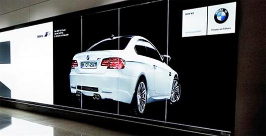 BMW M3 Coupe 宝马M3双门跑车品牌创意广告设计