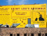 Saint Lou's Assembly  芝加哥餐厅品牌视觉形象设计