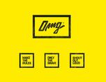 服装品牌OMG视觉形象设计