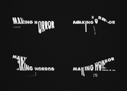 Making Horror 視覺識別