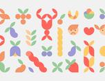 KUKA Fruit food bouquets 品牌形象设计