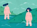 《孤独》系列插画