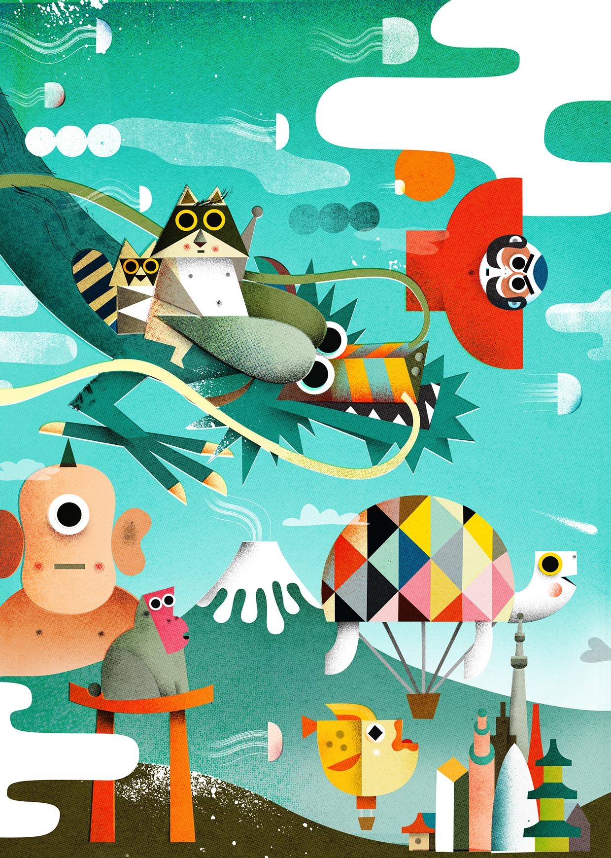 日本卡通画收集分享