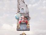 """法国艺术家LaurentCh&:""""飞行之家""""系列作品"""