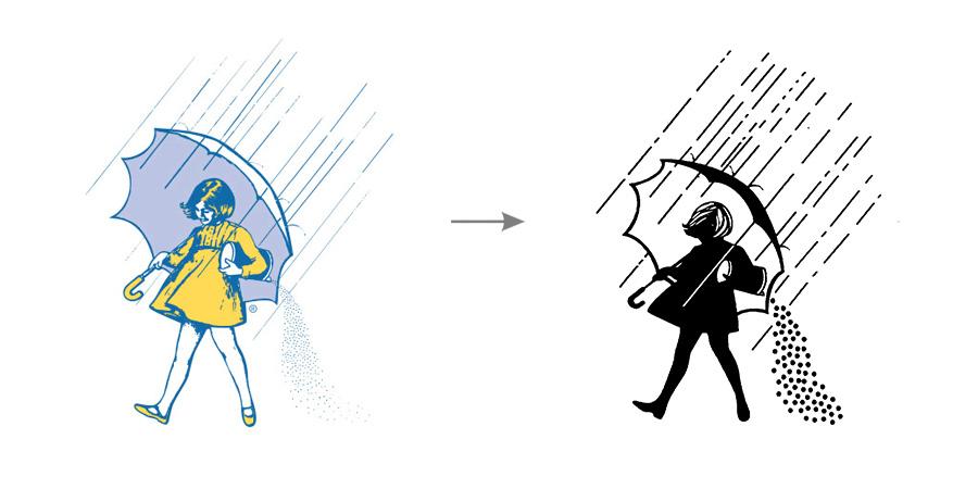 卡通logo图片素材单色