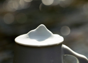 山水间茶器 仙山手工杯 景德镇全手工陶瓷马克杯 情侣杯 人文器物