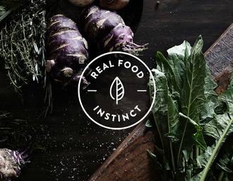 REAL FOOD INSTINCT 健康美食品牌视觉形象设计
