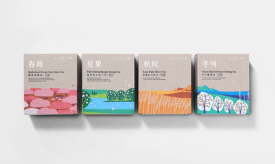 吾谷茶粮 来自大地的食材,品嚐生活中最朴实原味的幸福 SIIDCHA Four Season Gift Set