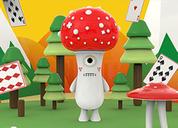 蘑菇市集 创意市集视觉设计