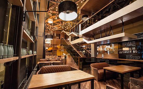 哈萨克斯坦 阿斯塔纳 mojo 咖啡厅设计 #简米分享