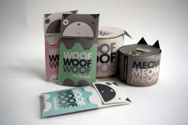 创意宠物食品包装设计