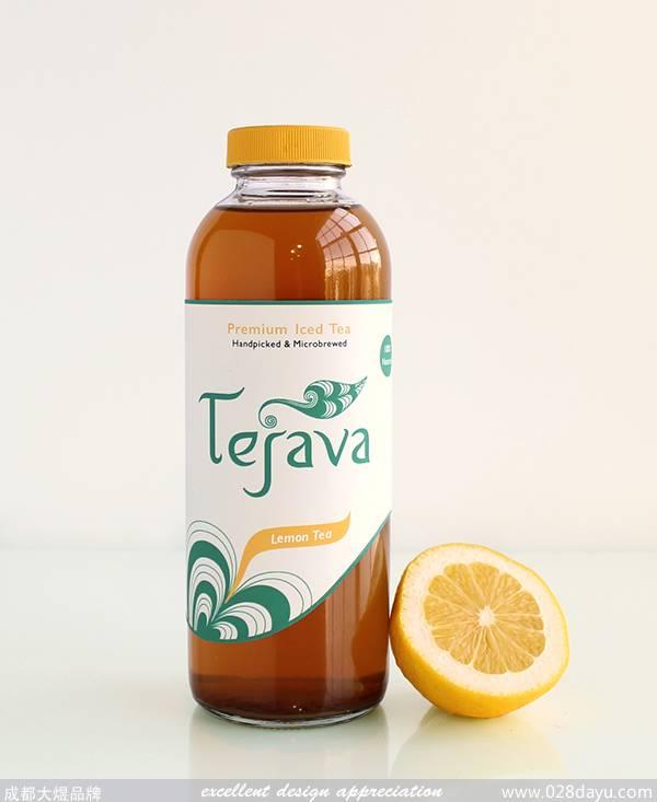 国外茶饮料包装设计欣赏