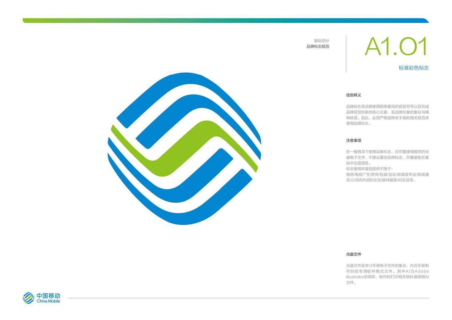 中国移动logo含义