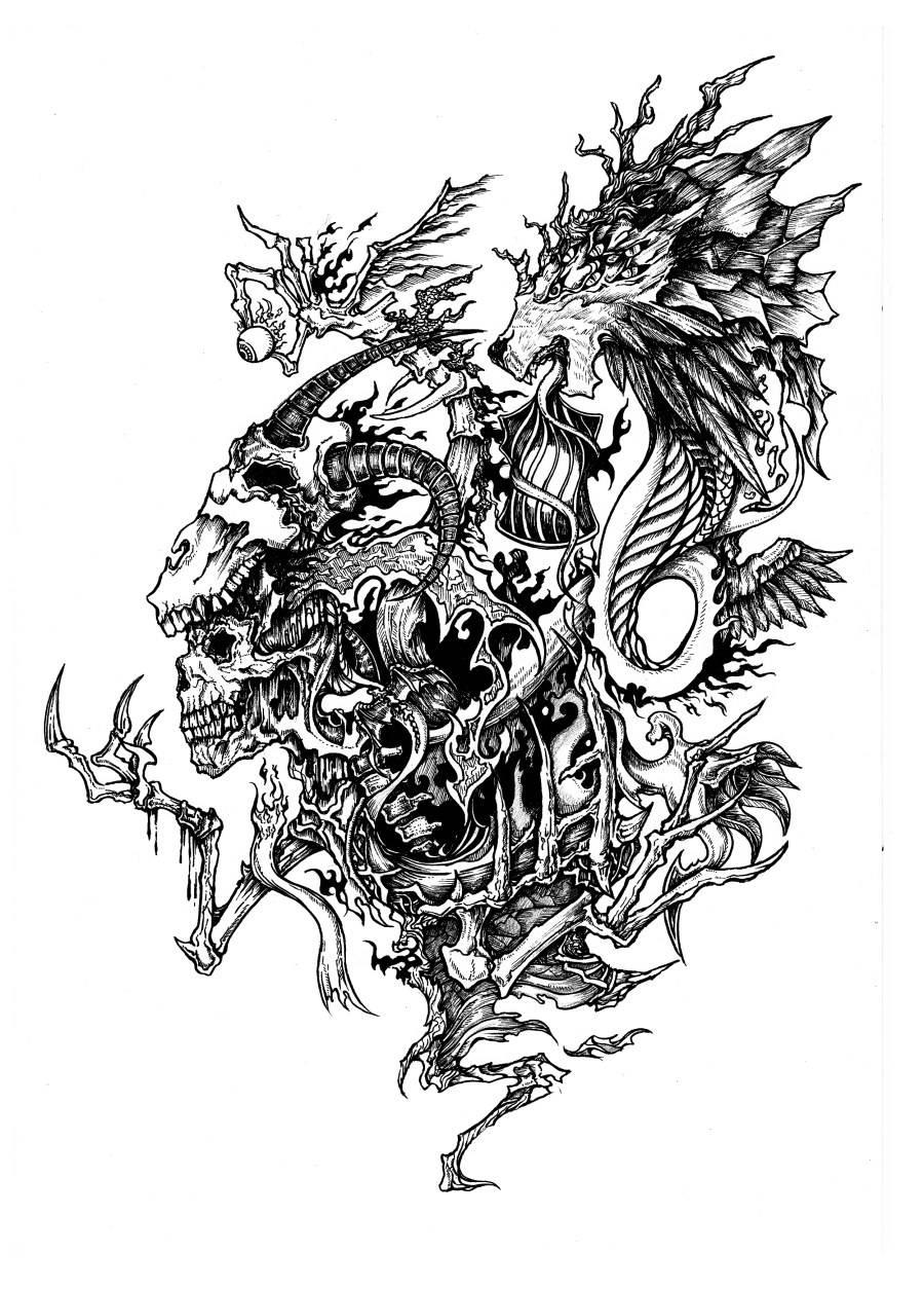 简笔画 手绘 线稿 900_1254 竖版 竖屏