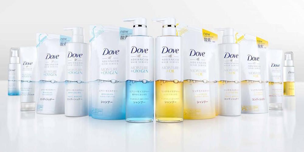 多芬品牌创意广告_Dove 多芬头发护理包装设计-古田路9号-品牌创意/版权保护平台
